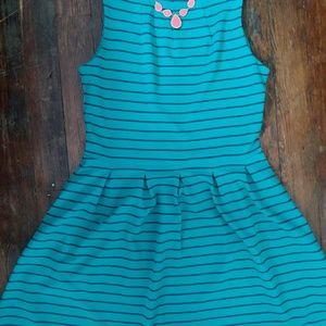 Mossimo Teal Dress